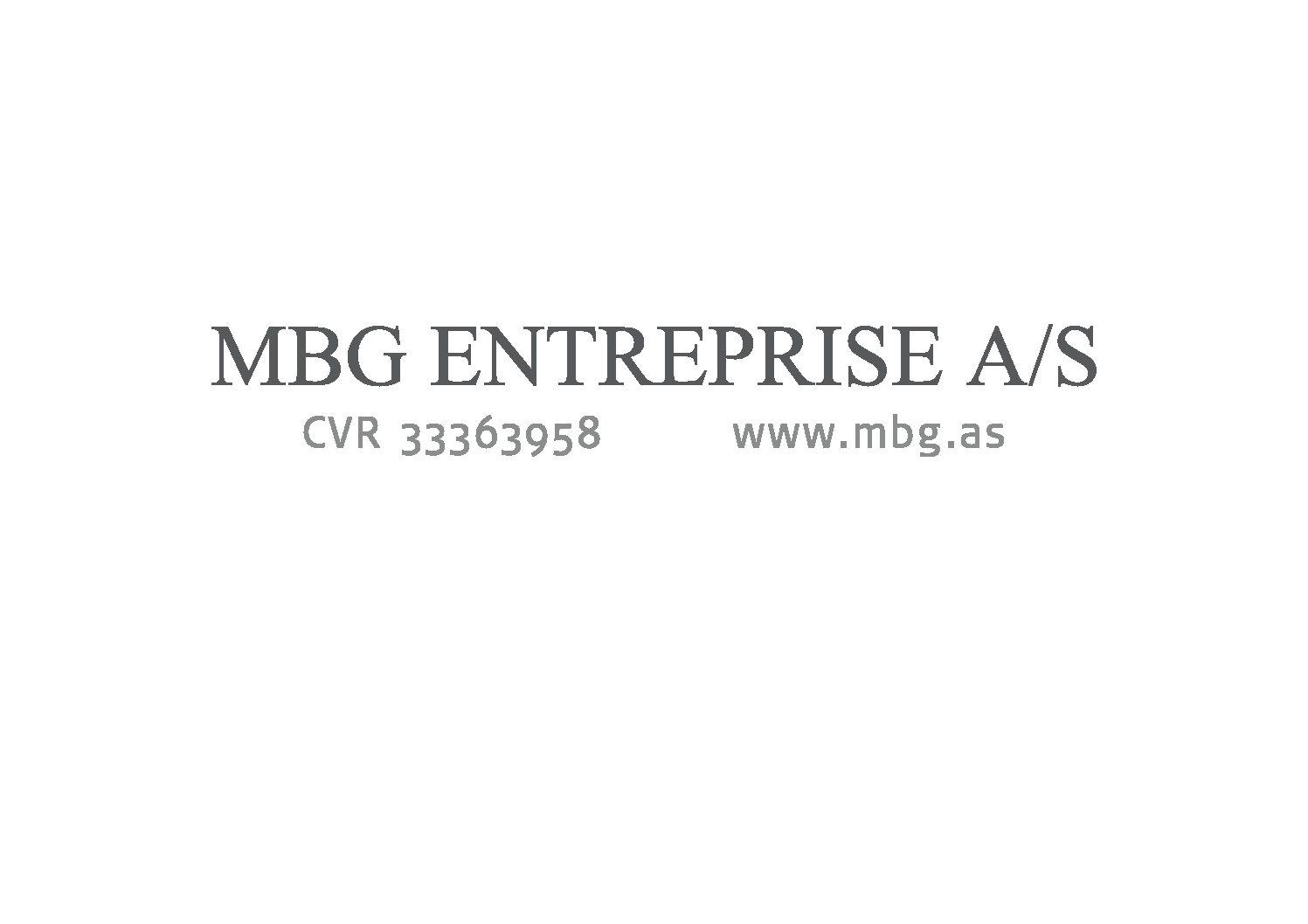 MBG Entreprise A/S